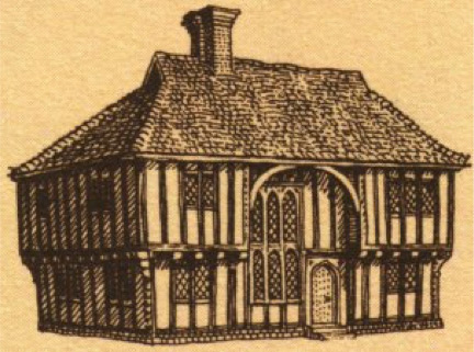 Tudor style houses in South East England